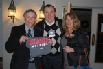 Marc Fishman, Jim Maskas and Karen Fad (Maskas)  with THE SHIRT!